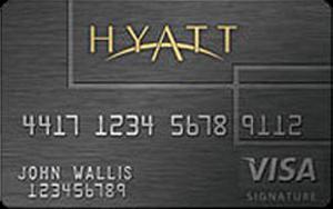 hyatt credit card