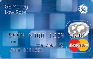 GE credit card