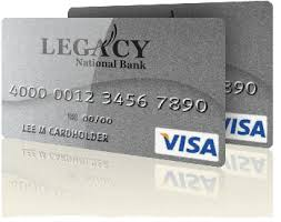 legacy visa credit card