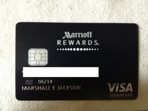 Marriott Rewards Credit Card Review