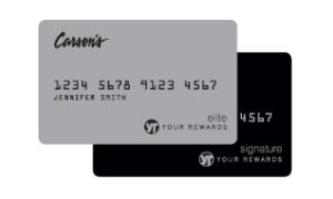 carson's  credit card